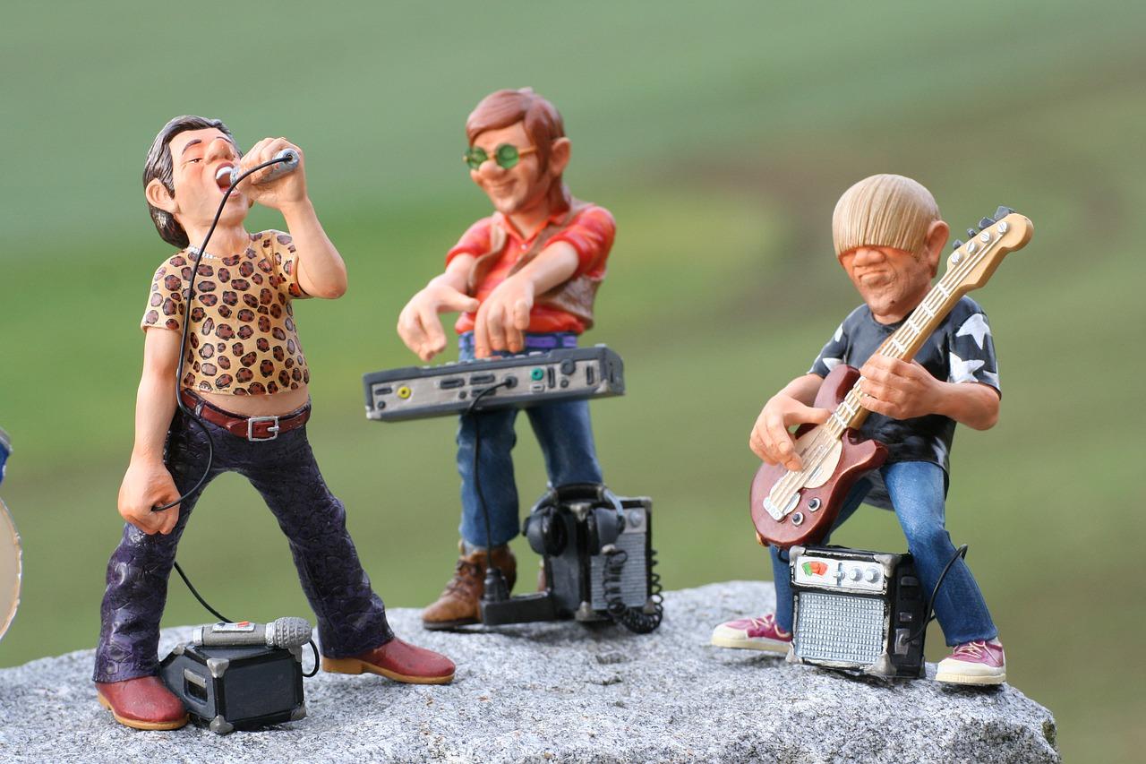 Groupe de musique.